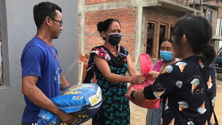 コロナで失業したネパールの貧困世帯、ひとり親世帯に食糧を届けたい