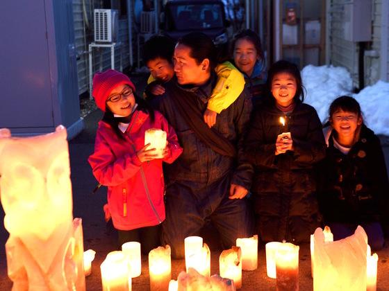 3.11に福島で追悼と希望のメッセージを刻んだキャンドルを灯そう