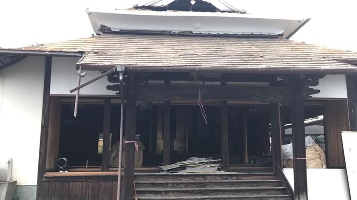 熊本地震で解体した正栄寺の本堂を再建したい。