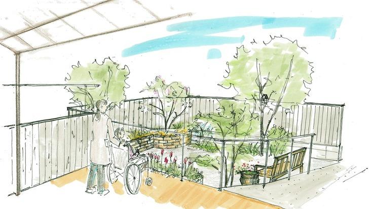 緑に囲まれた穏やかな時間を 〜ホスピスに庭を作りたい〜