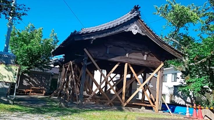 須恵町新原で守り続けてきた地蔵堂拝殿を今後も守り抜いて行くために