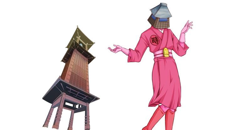 川越に女性マスコットキャラクターを!時の鐘美を誕生させよう!