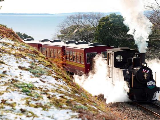 日本で唯一遊園地を走る双子の蒸気機関車を復活させたい!