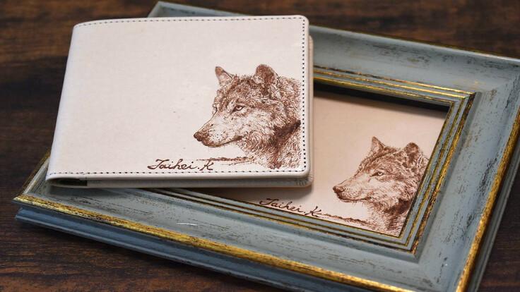 絵を使う、農画家が発案した財布。 上林 泰平の挑戦に御支援下さい。
