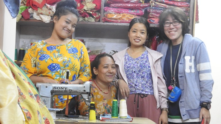 裁縫のトレーニングセンター設立し、女性の雇用創出につなげたい!