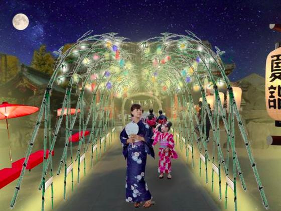 夜の浅草を盛り上げるべく、竹参道ライトアップにご協力ください
