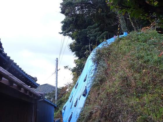 京都府北部で無人化した神社の土砂崩れ対策を実現したい!