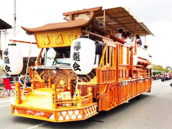 20万人の見物客!村山徳内祭りにて「引き山車」を作成したい!!