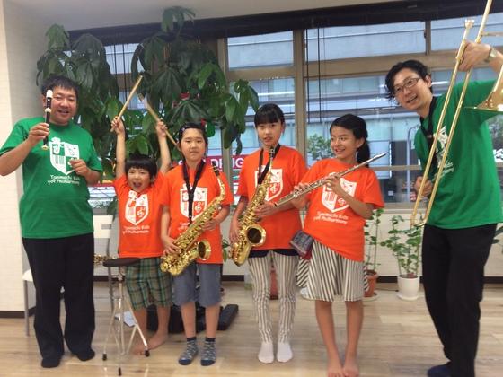 子どもたちにマイ楽器を!谷町キッズフィルハーモニー楽団始動!