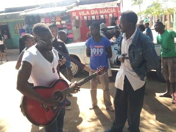途上国から音楽で楽しい世界貢献をしたい!心で伝えるソングを!