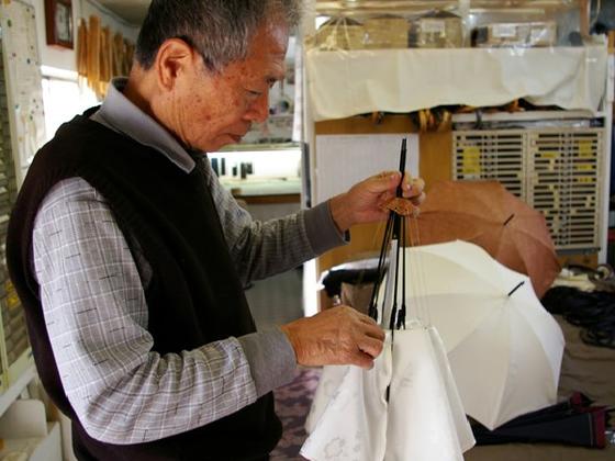 日本が誇る傘職人・中永静人のこだわりの手作り傘を広めたい!