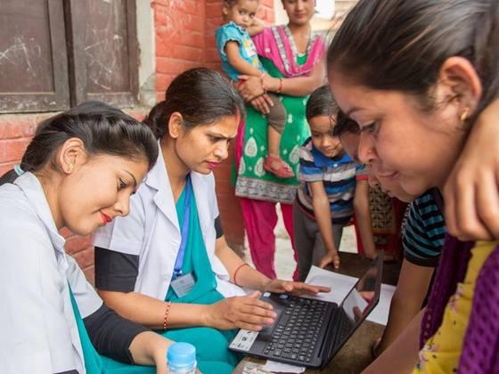 ネパール医療をITの力で支える!ASHA fusion導入プロジェクト!
