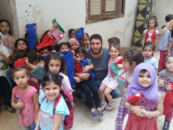 シリア紛争下の子どもたちに希望と夢がつまった教育を届けたい!