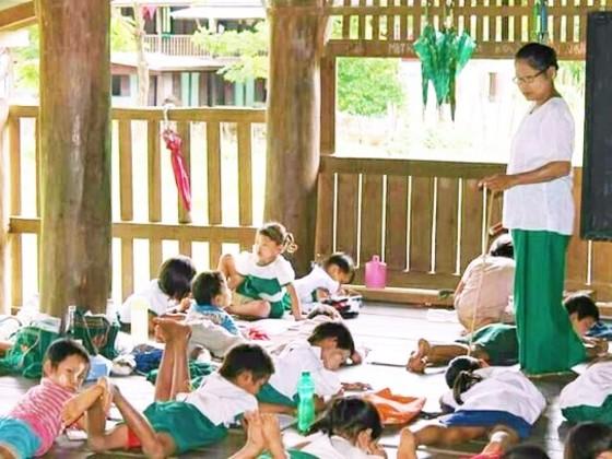 内戦や天災の被害を受けたミャンマーに小学校校舎を建て直したい