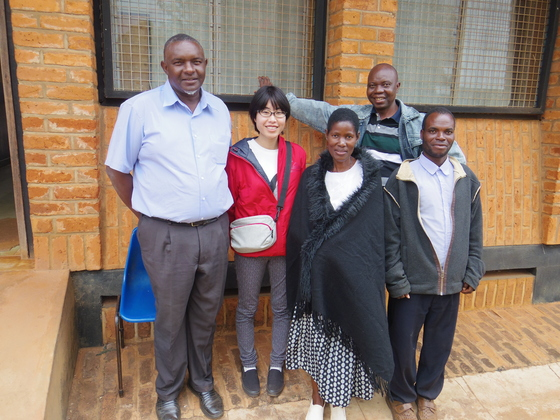 マラウイの職業訓練校に就労支援の本を送りたい!