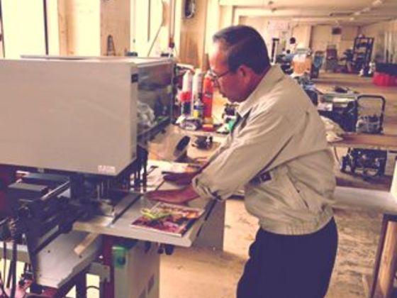 台風10号で機材が被災!宮古で57年続く印刷会社を再建したい!