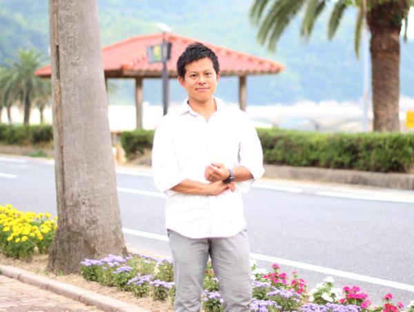 定住リゾートの候補地として研究した片添ヶ浜
