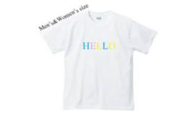 ブランド第一弾【HELLO】colorTシャツ 大人サイズ(ユニセックス)