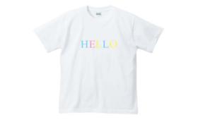 ブランド第一弾【HELLO】Tシャツ(キッズor大人サイズ)とブランドへのご支援