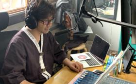 【大黒屋 全力応援コース!】二十一代・橋本彰一のラジオ番組でお名前とメッセージ読み上げます!