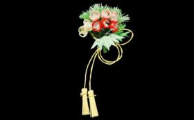 かわいい水引飾り( 花かざりミニ)
