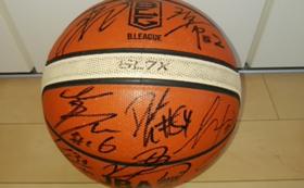 【限定5名】新潟アルビレックスBB選手(2017-2018ロースター)サイン入りボール