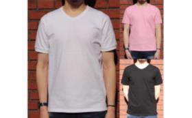 【先着50名様 / 超得パック】メンズサイズVネックTシャツ Readyfor特別価格+特別会員登録権