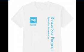 【悲願のミッション達成を共に応援】第2回rspクラウドファンディング記念Tシャツ
