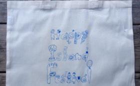 イラストレーター杉本麻絵さんのコットンバッグセット