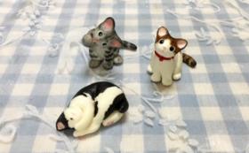 にゃんこのしっぽ♪オリジナル猫フィギュア 1個
