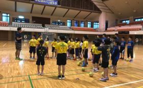 松信亮平が、あなたのチームでハンドボールスクールを行います