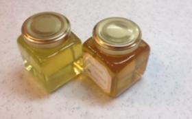 日本蜜蜂の蜂蜜110g ×2瓶 非加熱