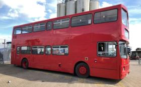 ご支援いただいた証をロンドンバスに残させてください!