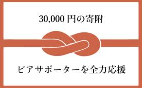 【30,000円の寄附】ピアサポーターを全力応援