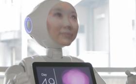 【作品購入】あなたをコピーしたロボットアプリケーション&フェイスを制作