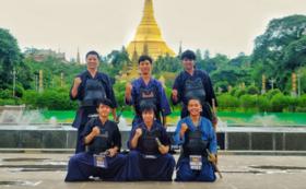 【直筆】ミャンマー代表のサイン
