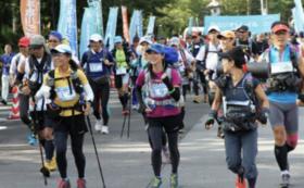 「第6回白山ジオトレイルマラソン」で初日に赤坂剛史と一緒に走れる