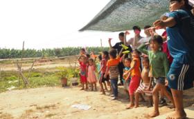 ベトナムのバナナ農園のポストカードが届きます!
