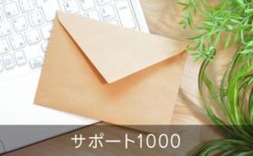サンクス&活動報告メール(サポート1000)