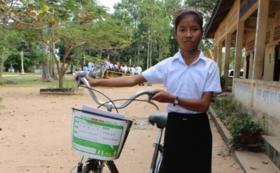 【自転車サポーター】<自転車1台と修理セット>を子どもたちに届けします