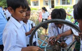 【自転車&自転車クラブのサポーター】<自転車1台>を子どもたちに届け、<自転車クラブの設立継続>をします