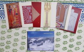 ミティラー美術館入場券ペア(3年有効)+ポストカード12枚セット