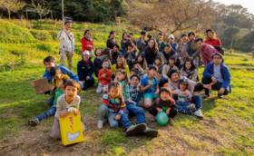 <ヒミツキチ森学園の授業を子どもたちと一緒に体感できる!>ヒミツキチ森学園に一日入学体感コース