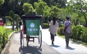 法人向けB 購入した人力車の背面に広告看板を設置できる権利