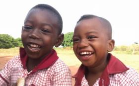 ガーナの子どもたちからの感謝のメッセージ動画