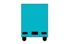 【企業様、店舗オーナー様向け】 ReggaeKitchenキッチンカーに社名、ロゴを張り付けて広告できるコース