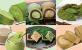 人気のお茶スイーツ詰め合わせと全国の有機栽培茶詰め合わせセット