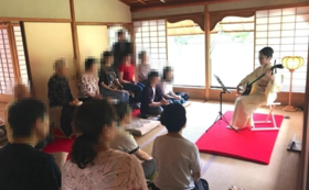 【福井県外の方限定】三味線体験コース!