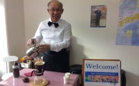 【来場者限定】自家焙煎コーヒーで宇都宮健児先生と交流会