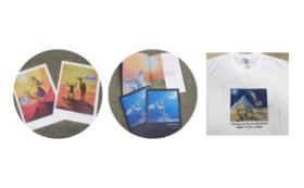 【Cコース】ポストカード・作品集・Tシャツ